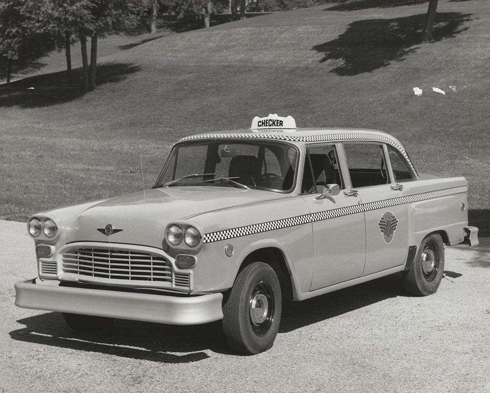 Checker Taxicab - 1974