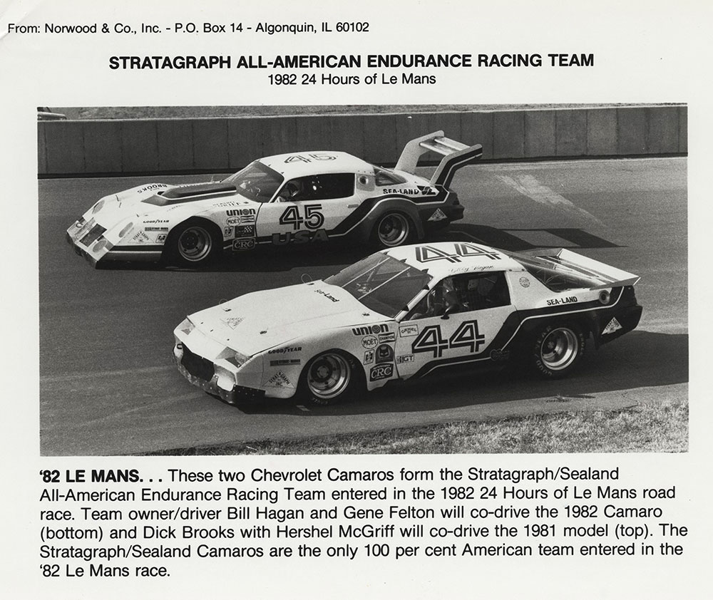 Chevrolet - 1982 - 24 Hours of Le Mans: Stratagraph/Sealand