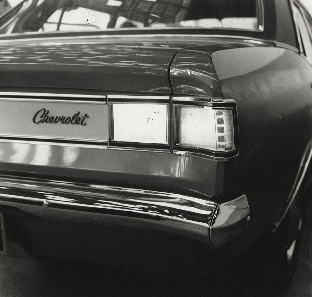 Chevrolet - 1973 - Opala SS (made in Brazil) back lights