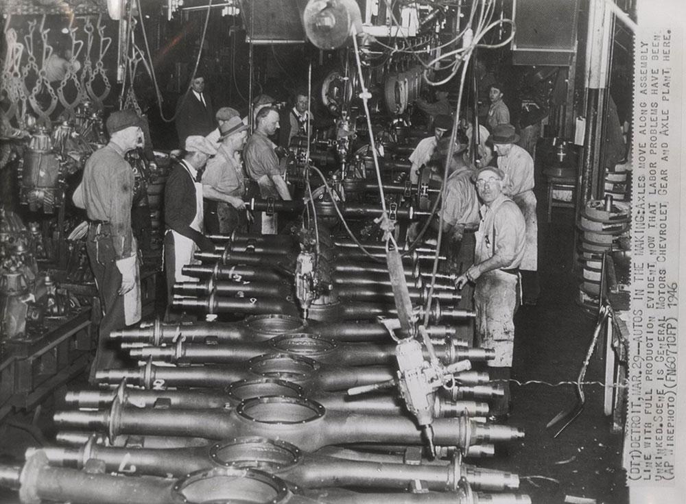 Chevrolet - 1946 - gear and axle plant, Detroit  - Digital