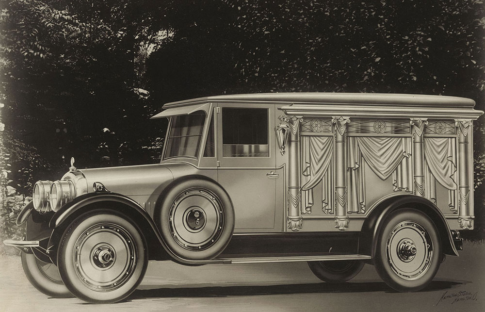 #pha.003442 Photo CUNNINGHAM AUTOMOBILE 1917 Car Auto