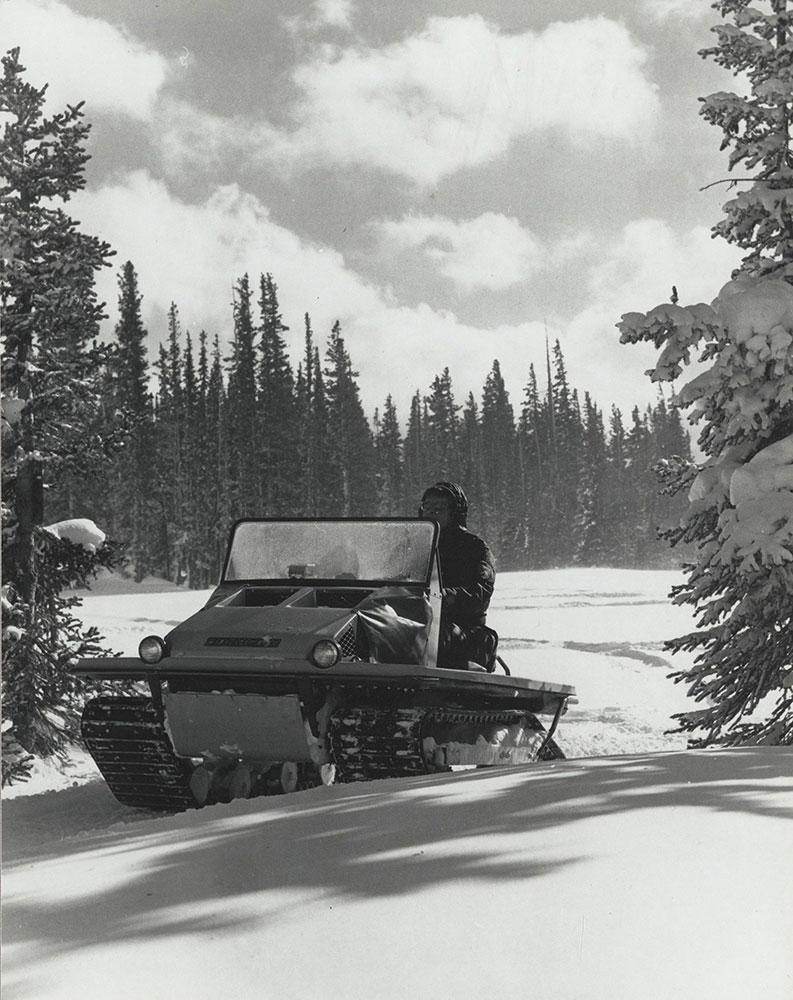 Cushman Trackster, 1972.