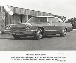 Dodge Polara Custom 1974