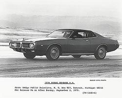 Dodge Charger SE 1974