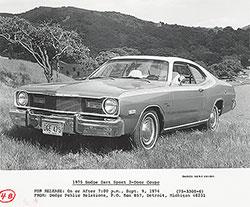 Dodge Dart Sport 2-Door Coupe 1975