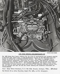 Dodge 1965 Optional High-Performance V-8