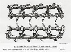 Dodge 1965 Hemi-Charger Engine: Rocker Arm Assemblies