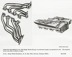 Dodge 1965 Hemi-Charger Exhaust Headers