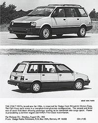 Dodge 1984 Colt Vista