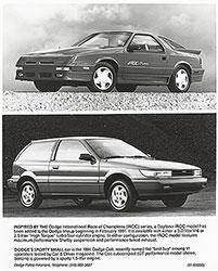 Dodge Daytona IROC, Dodge Colt: 1991
