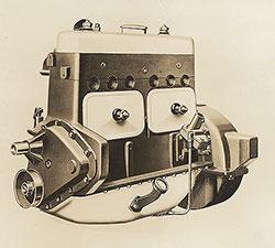 Dort Six Cylinder engine, left side view: 1923