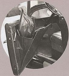 Dort 1924 Pocket on Driver's door.