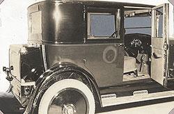 Dort Sedan, interior: 1924