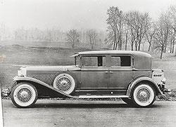 Duesenberg with Willoughby Berline bodywork: 1930-34