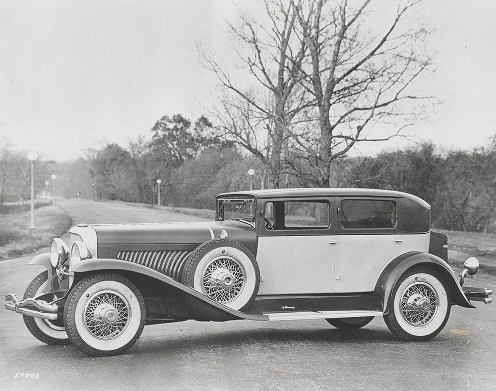 "Duesenberg Model J Sedan with bodywork by Weymann, called the ""St ..."