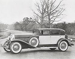 Duesenberg Sedan with bodywork by Weymann, called the