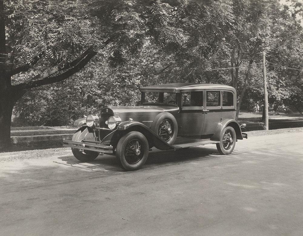DuPont Model G Seven Passenger Sedan 1929