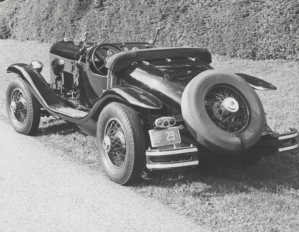 DuPont 1929, 2-Passenger Speedster, Model G