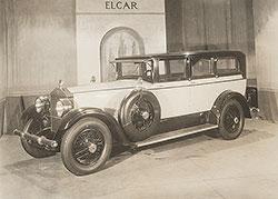 Elcar Model 8-81 7-Passenger Sedan at Chicago Show 1926
