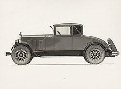 Elcar Model 8-81 Coupe Roadster 1927