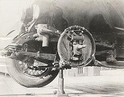 Elcar Eight In Line Front Brake 1927