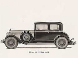 Elcar 8-91 and 8-82 Princess Coupe: 1928