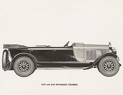 Elcar 8-78 and 8-82 standard touring: 1928
