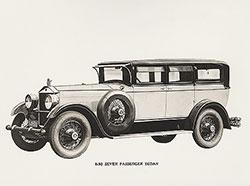 Elcar seven passenger sedan: 1928