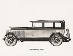 Elcar Model 6-70 standard sedan: 1928