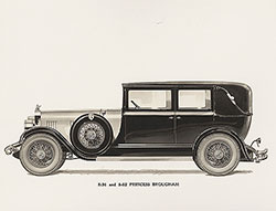 Elcar Model 8-91 and 8-82 Princess Brougham: 1928-1930
