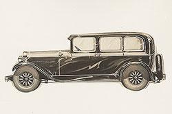 Elcar four-door sedan: 1930