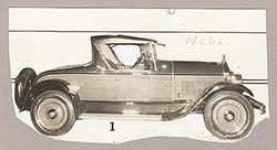 Flint Model E-55 roadster - 1925