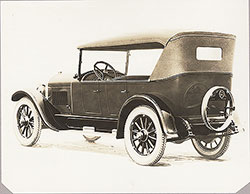 Flint touring, rear view- 1923