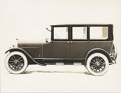 Flint Six sedan  - 1923