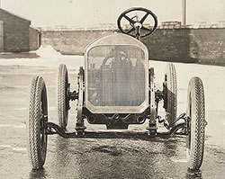 Flint, chassis, radiator, from front- 1923