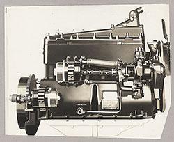 Flint, engine block - 1923