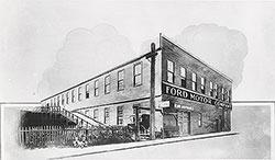 Ford Motor Company, factory on Mack Avenue, Detroit.