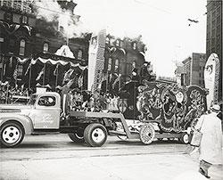 Ford Motor Company Float, Detroit Automotive Golden Jubilee Parade: 1946