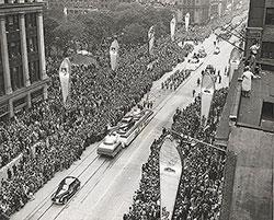Ford Motor Company, Detroit Automotive Golden Jubilee: 1946