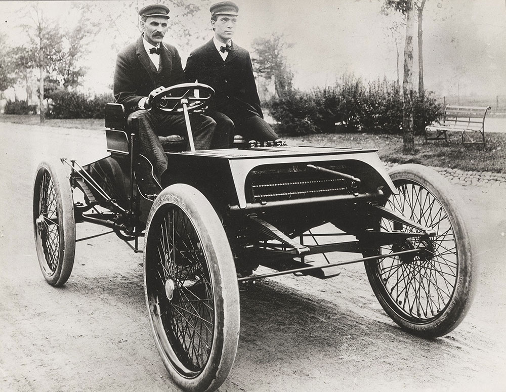 Henry Ford (left) and \