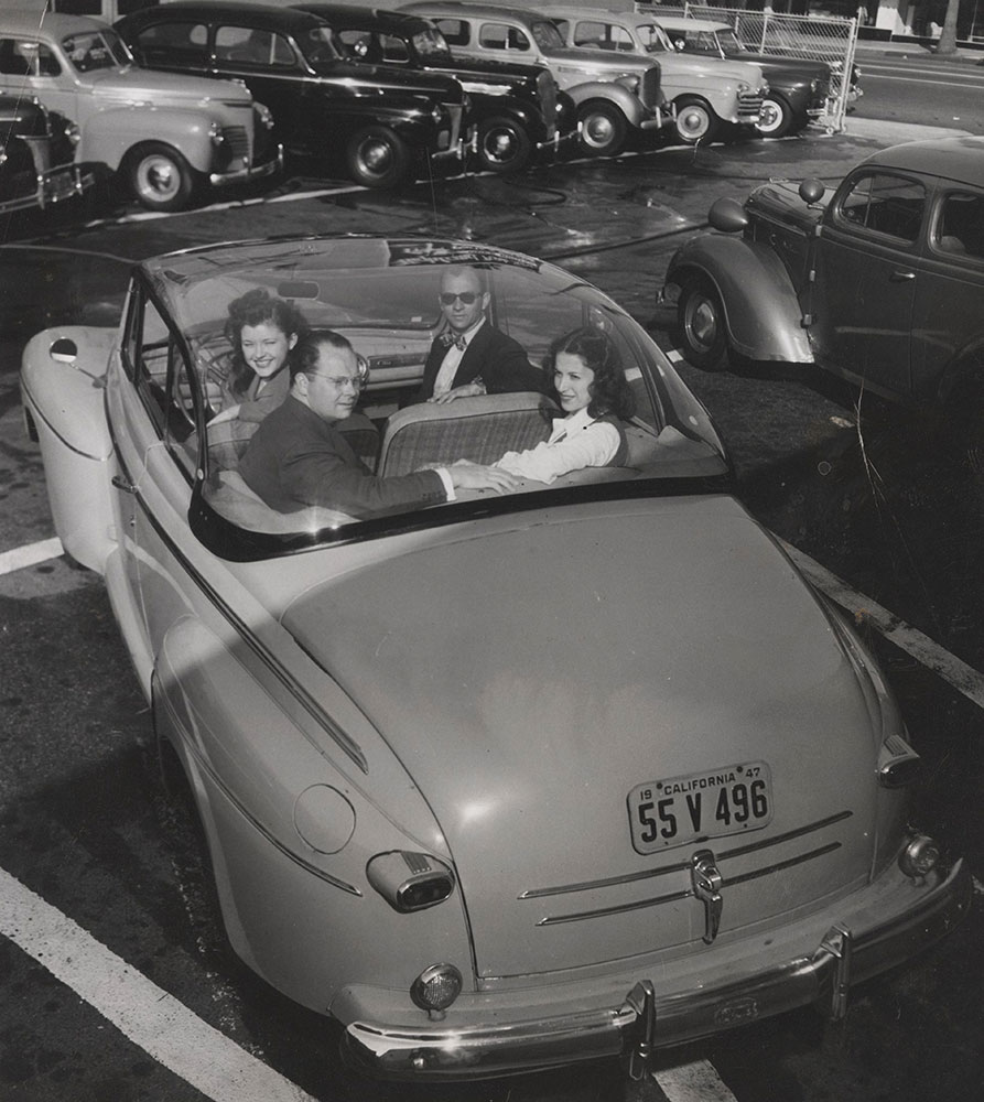 Ford With Bubble Top - 1946