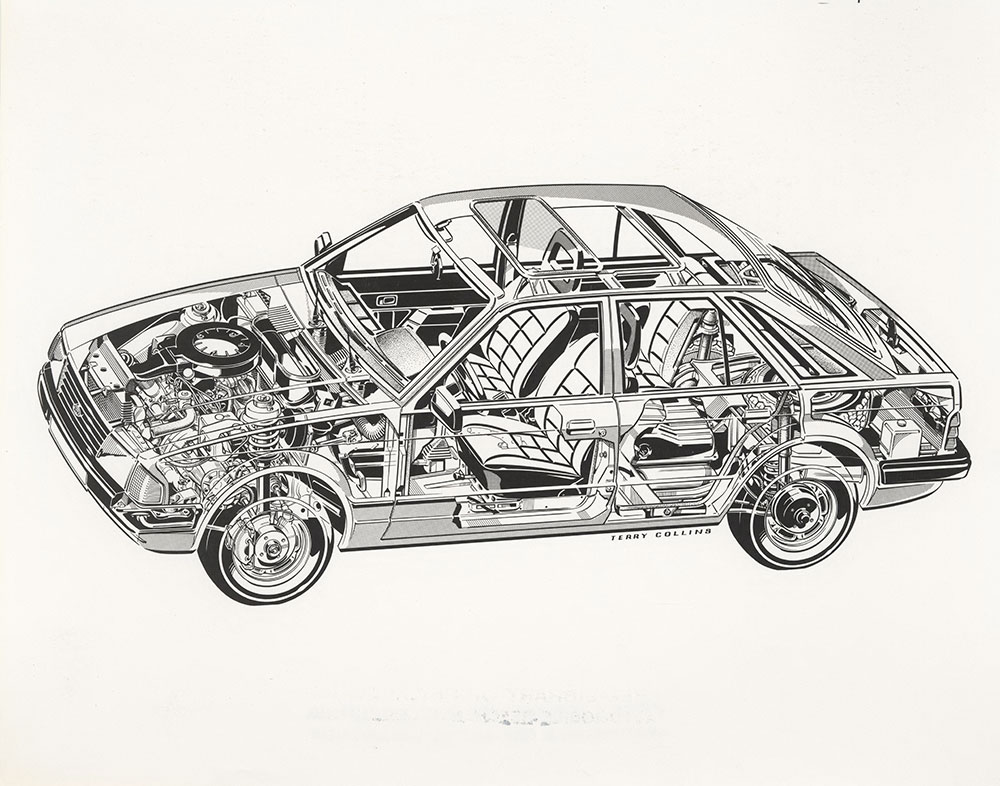 Ford Escort Outline Drawing Digital Collections Free Library