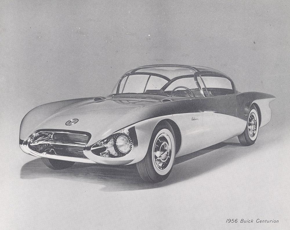 1956 Buick Centurion General Motors Motorama