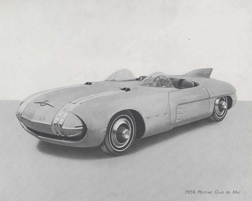 General Motors Motorama Pontiac Club De Mer