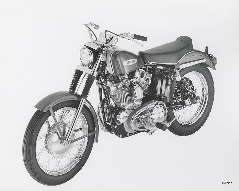 Harley Davidson Sportster - 1967 - Digital Collections - Free Library