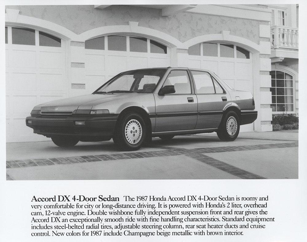 Kekurangan Honda Accord 1987 Harga