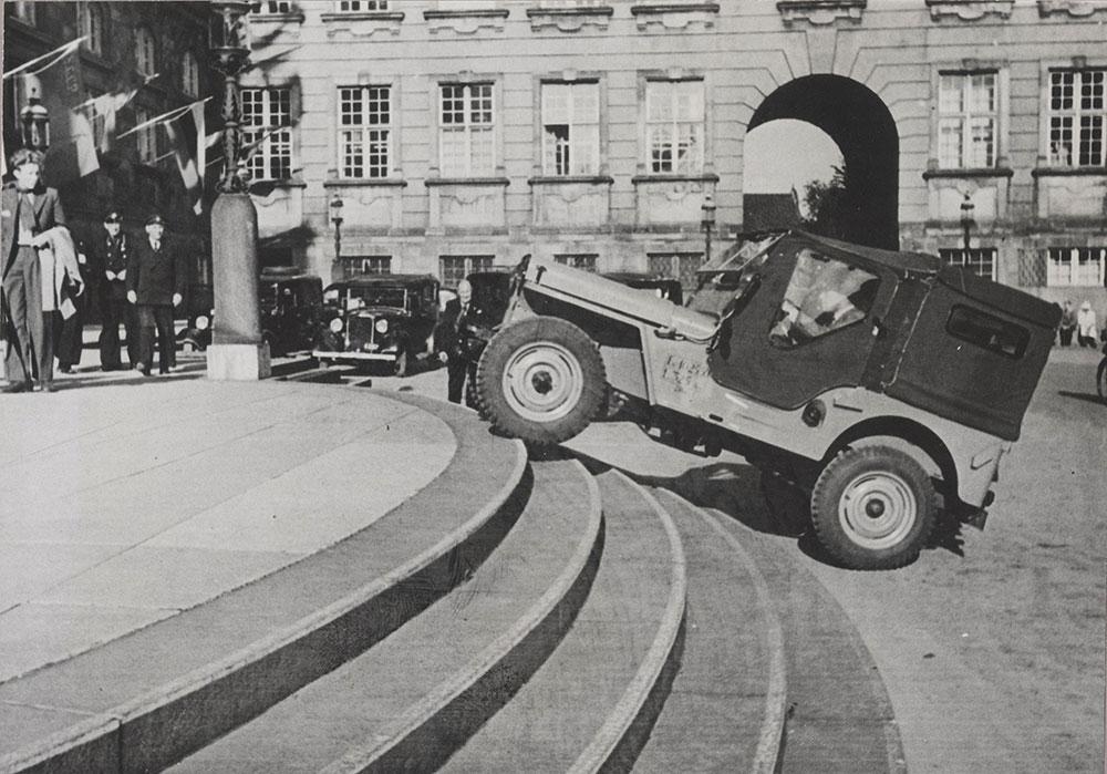 Jeeps in Denmark - 1946