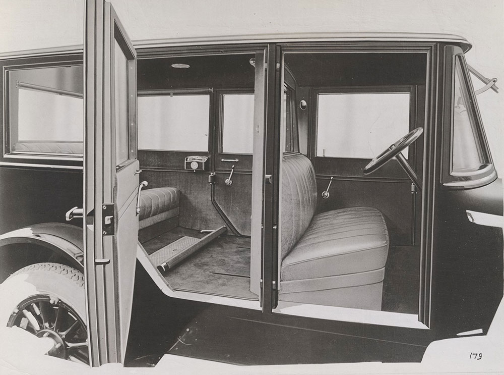 King Limoudan, showing interior - 1919
