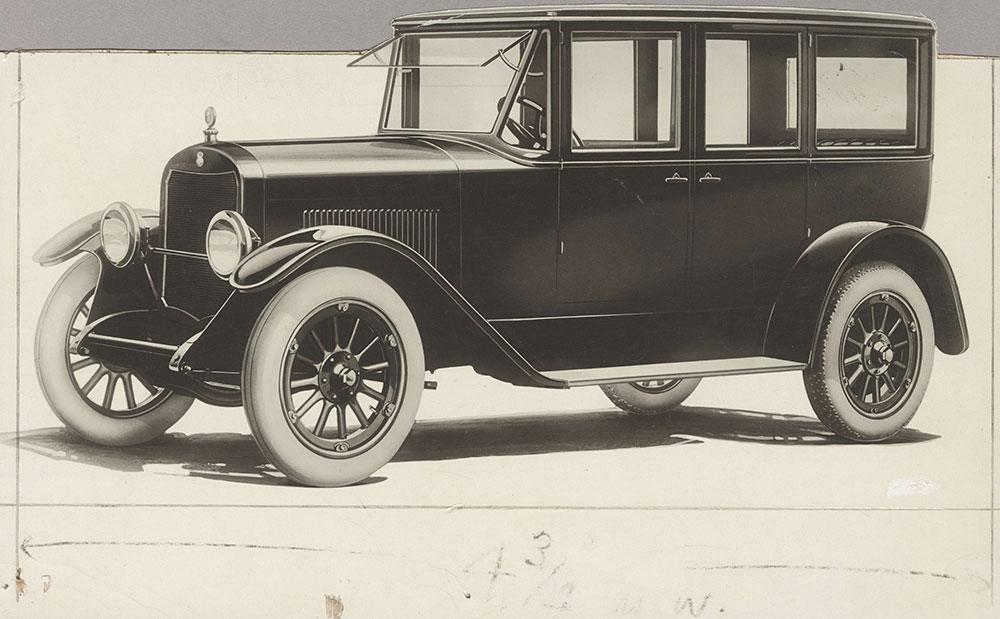 King 8 sedan- 1920