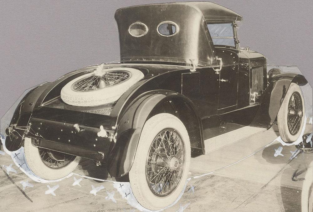 King, Road King, rear view - 1920